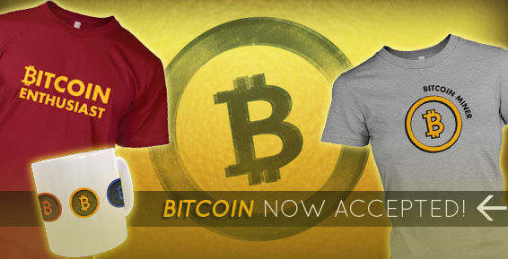 Bitcoin tshirts and Bitcoin hoodies