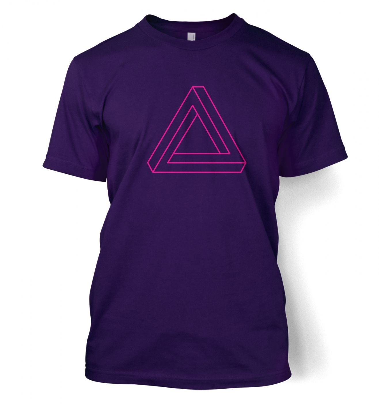 Optical Illusion Triangle t-shirt