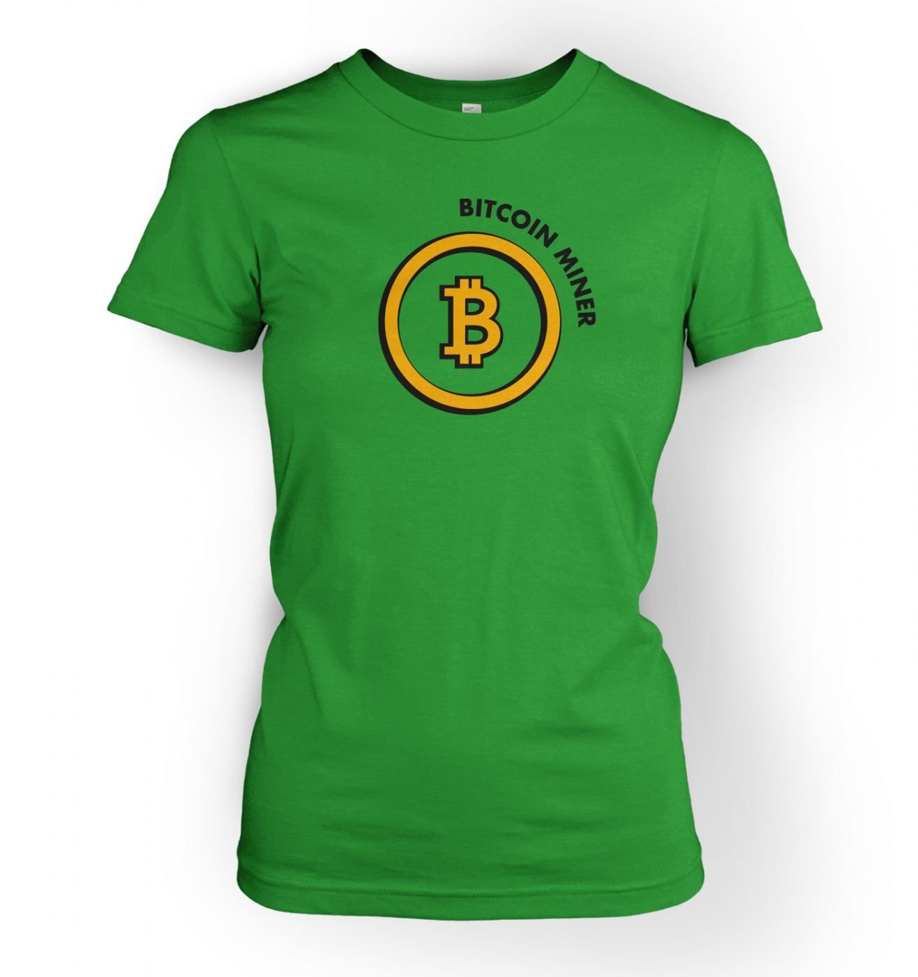 Bitcoin Miner women's t-shirt