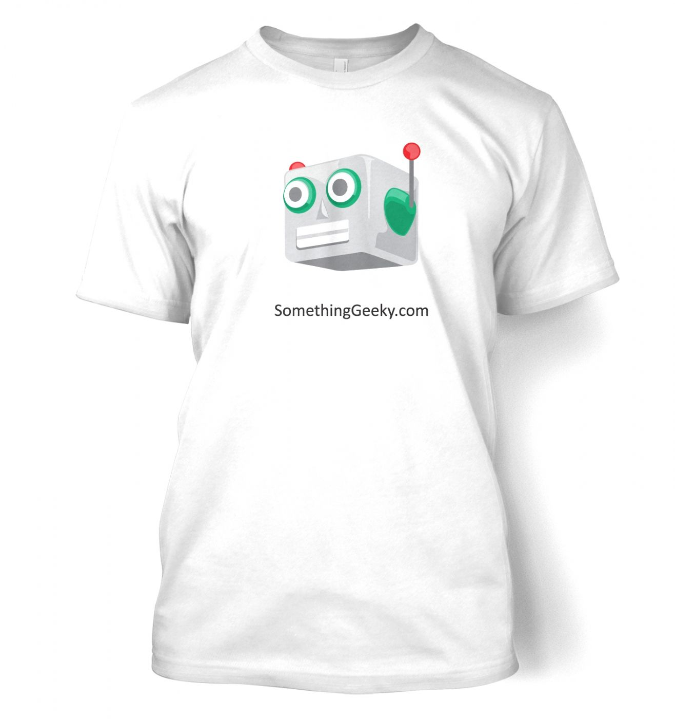 Wear the SomethingGeeky Robot with pride!