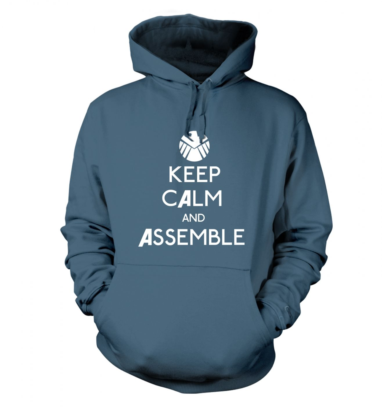 Keep Calm And Assemble hoodie
