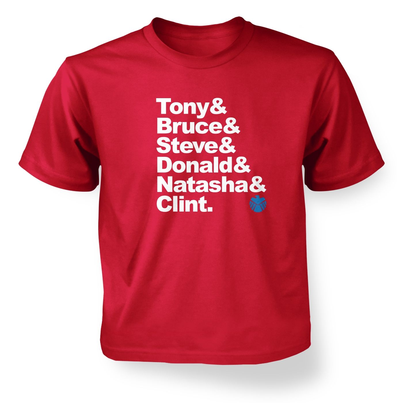 Tony And Bruce And kids' t-shirt