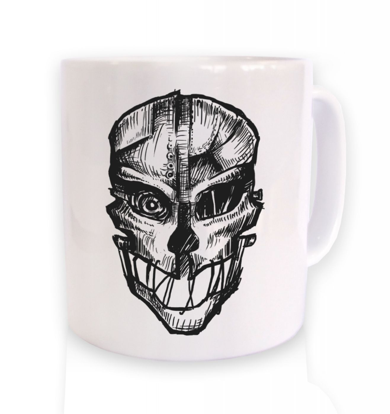 Assassins Mask  mug