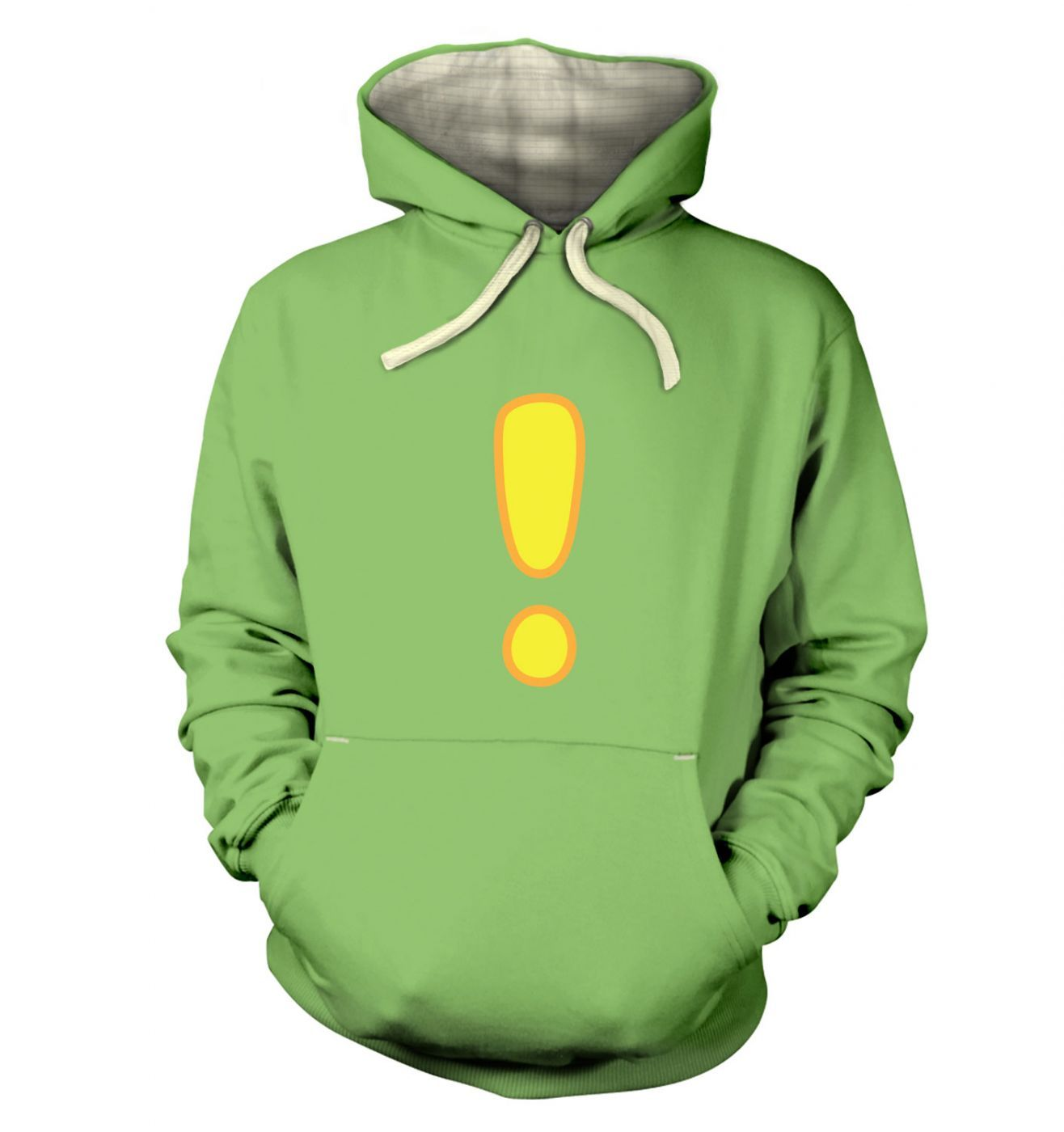Quest Exclamation Mark  hoodie (premium)