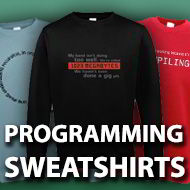 Programming Sweatshirts