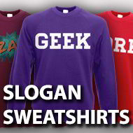 Slogan Sweatshirts
