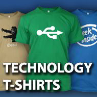 Technology t-shirts