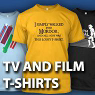TV and Film t-shirts