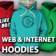 Web & Internet hoodies
