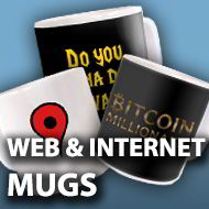 Web & Internet mugs