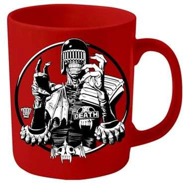 2000AD Judge Death mug