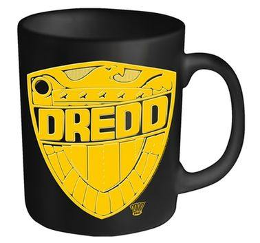 2000AD Judge Dredd Badge mug - Official