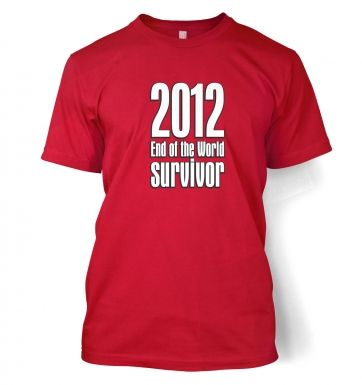 2012 End Of The World Survivor men's t-shirt