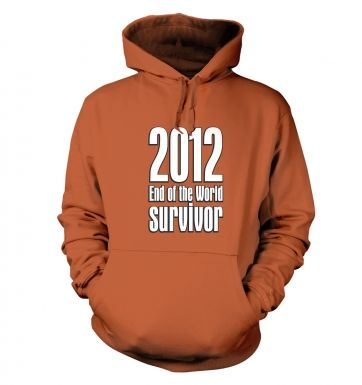 2012 End Of The World Survivor adult's hoodie
