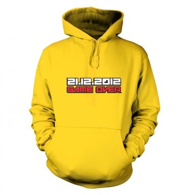 2012 Game Over hoodie