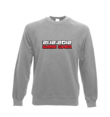 2012 Game Over sweatshirt