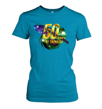 50 Years Of Trekking women's t-shirt