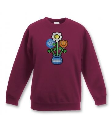 8-Bit Bouquet sweatshirt