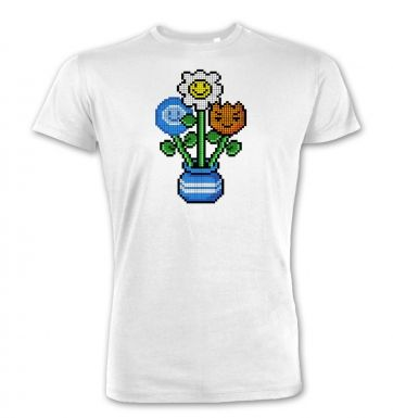 8-Bit Bouquet premium t-shirt