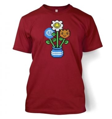 8-Bit Bouquet t-shirt
