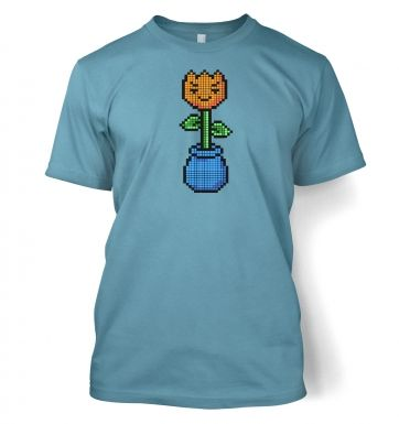 8-Bit Tulip men's t-shirt