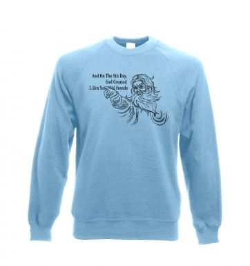 8th Day Creation crewneck sweatshirt