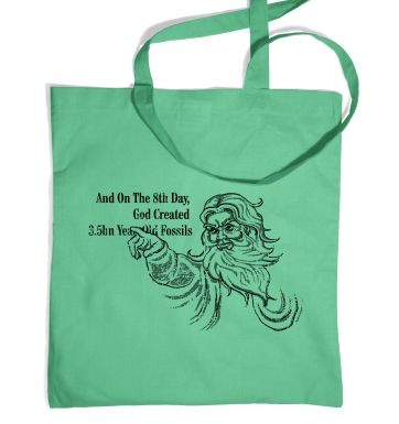 8th Day Creation tote bag