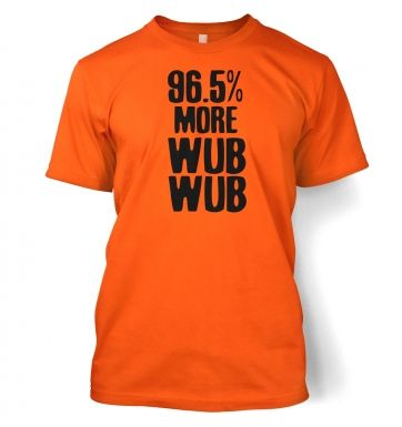 96.5% More WubWub men's t-shirt
