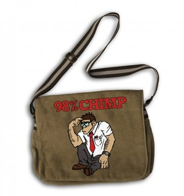 98% Chimp messenger bag