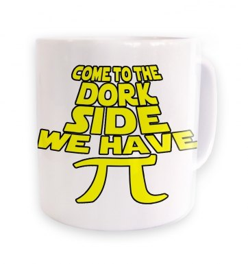 Come To The Dork Side mug