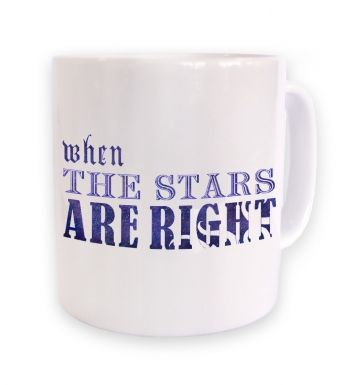 Cthulhu When The Stars Are Right mug