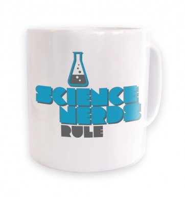 Science Nerds Rule mug