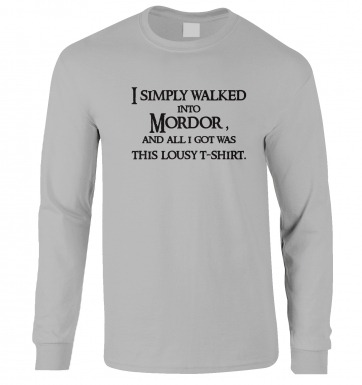 A T-shirt From Mordor long-sleeved t-shirt