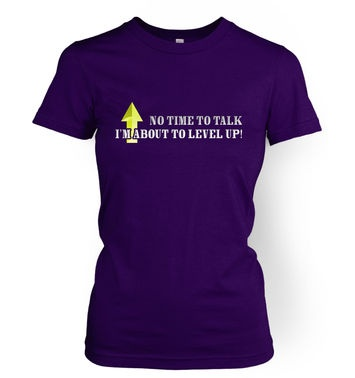 About To Level Up women's t-shirt