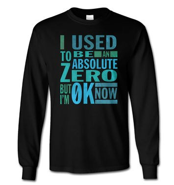 Absolute Zero 0K Now long-sleeved t-shirt