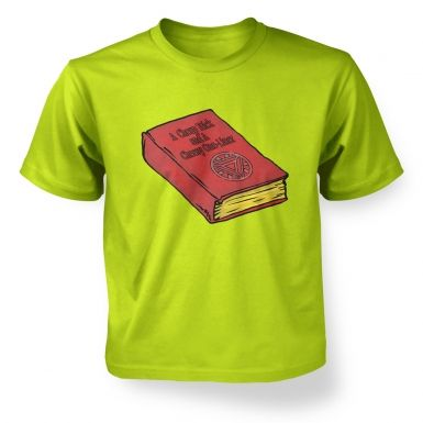 A Cheap Trick And A Cheesy One Liner kids' t-shirt