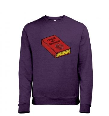 A Cheap Trick And A Cheesy One Liner heather sweatshirt