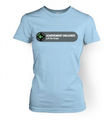 Achievement Unlocked   womens t-shirt