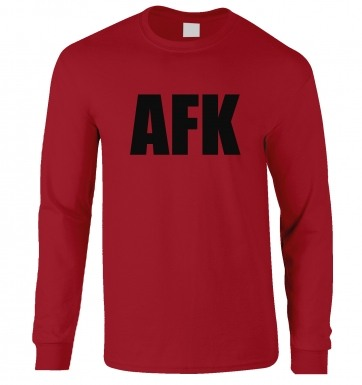 AFK long-sleeved t-shirt