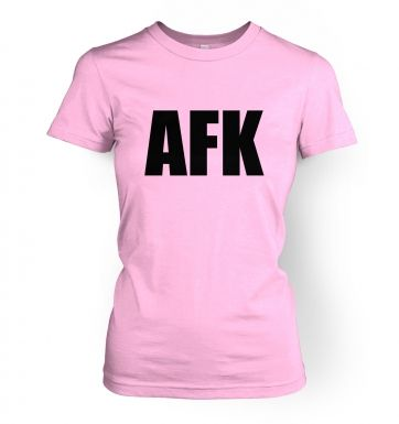 AFK  women's t-shirt