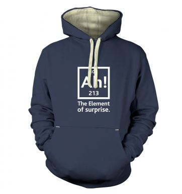 Ah! The Element Of Surprise premium hoodie