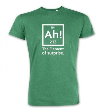 Ah! The Element Of Surprise  premium t-shirt