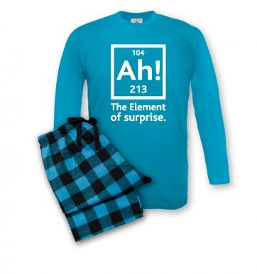 Ah! The Element of Surprise pyjamas (men's)