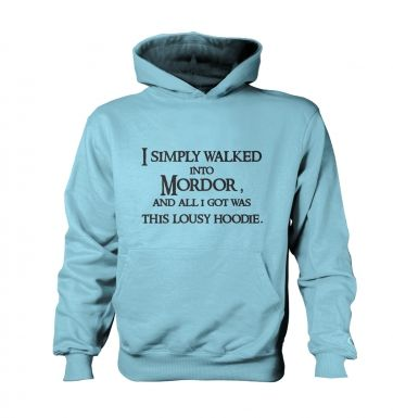 I Simply Walked Into Mordor Sweatshirt
