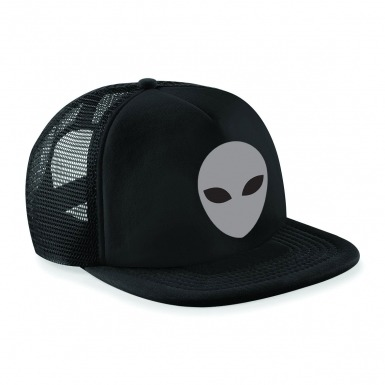 Grey Alien Head baseball cap