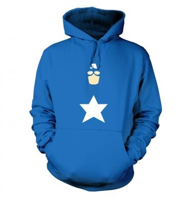 All American Hero Adult Hoodie Captain America