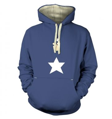 All American Hero Adult Premium Hoodie Captain America
