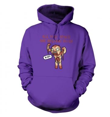 All Your Space hoodie