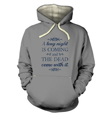A Long Night premium hoodie