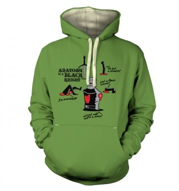 Anatomy of a Black Knight Adult Premium Hoodie